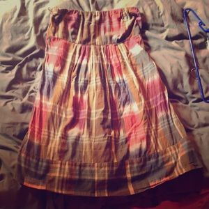 American Eagle strapless dress